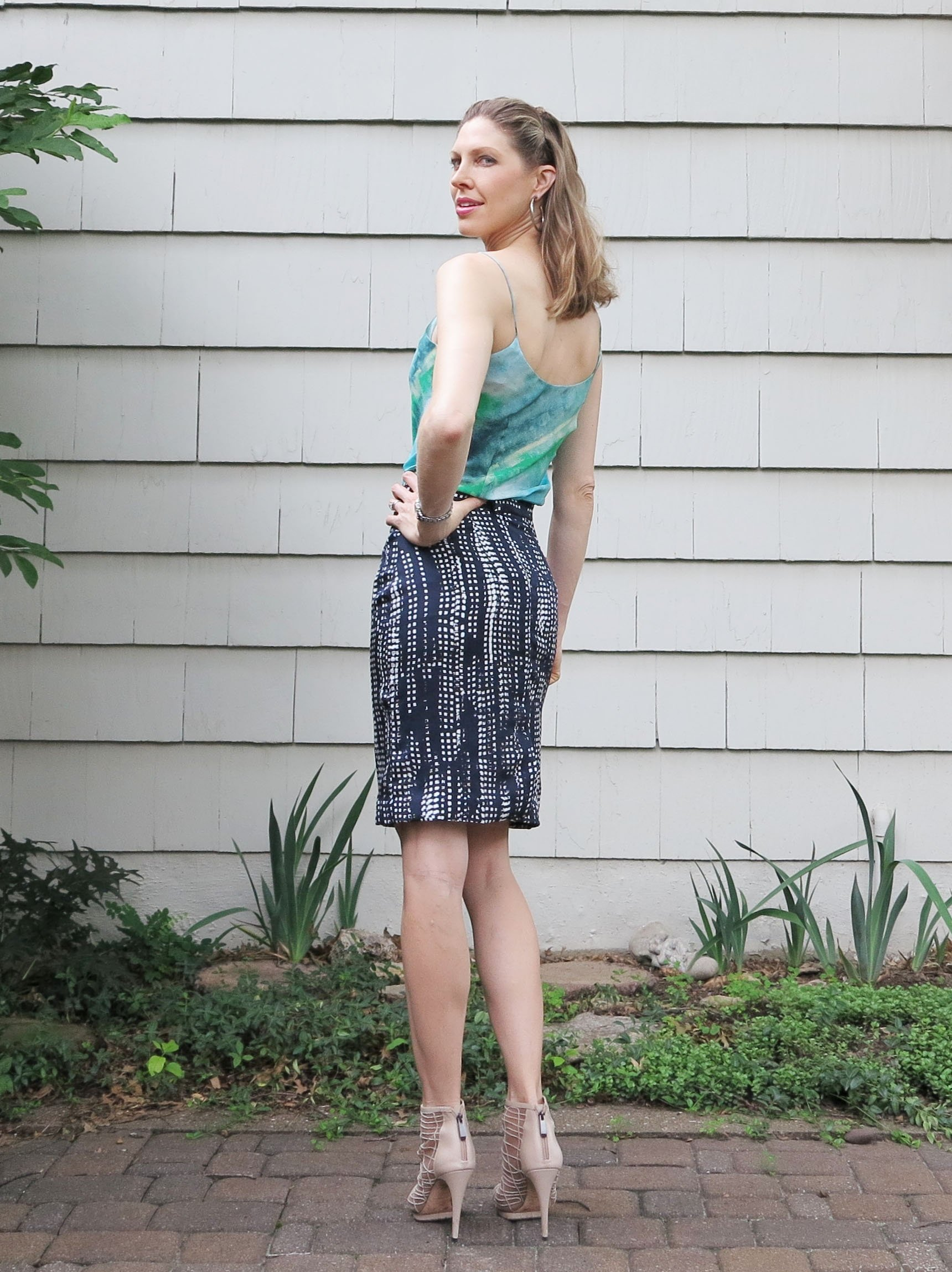 Ingenious J.crew Pleated Skirt Turquoise Fully-lined Size 10 Non-Ironing Skirts Clothing, Shoes & Accessories